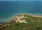 Aerial View of Hammond Bay Biological Station