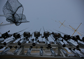 Charter Fishing Boat - Fishing Pole Array