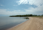 Caribou Island Beach and Bay
